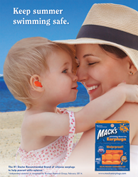 Keep summer swimming safe with Mack's® Ear Plugs!