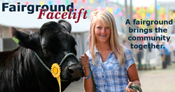 Fairground Facelift grant; The Fairground Facelift; county fair; Grinnell Mutual Reinsurance Company; Grinnell Mutual; auto insurance; reinsurer; farm mutual; reinsurance; insurance; farm insurance
