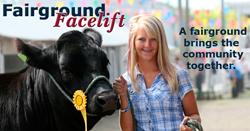 Fairground Facelift grant; The Fairground Facelift; county fair; Grinnell Mutual Reinsurance Company; Grinnell Mutual; auto insurance; reinsurer; farm mutual; reinsurance; insurance; farm insurance
