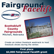Grinnell Mutual Reinsurance Company; Fairground Facelift; Front Porch Facebook page; Scotts Bluff County Fairgrounds; Scotts Bluff Ag Society; Mitchell; farm insurance