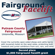 Grinnell Mutual Reinsurance Company; Fairground Facelift; Front Porch Facebook page; farm insurance; Putnam County Fairgrounds; Unionville