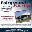 Grinnell Mutual Reinsurance Company; Fairground Facelift; Front Porch Facebook page; farm insurance; Putnam County Fairgrounds; Unionville