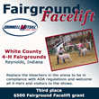 Grinnell Mutual Reinsurance Company; Fairground Facelift; Front Porch Facebook page; farm insurance; White County 4-H Fairgrounds; White County 4-H Fair; White County Ag Association; Reynolds