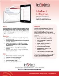 InfoAlert enterprise content alert solution