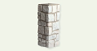 Carlton Cobblestone Marble Gray Medium Column, by FauxColumns.com