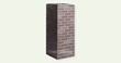 Carlton Brick Rich Brown Wide Column, by FauxColumns.com