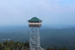 This faux fire tower hides wireless infrastructure.