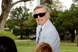 Frederick Karl attended the dedication of Stetson's Veterans Law Institute.