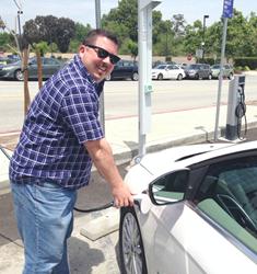 EV Connect managed EV charging stations