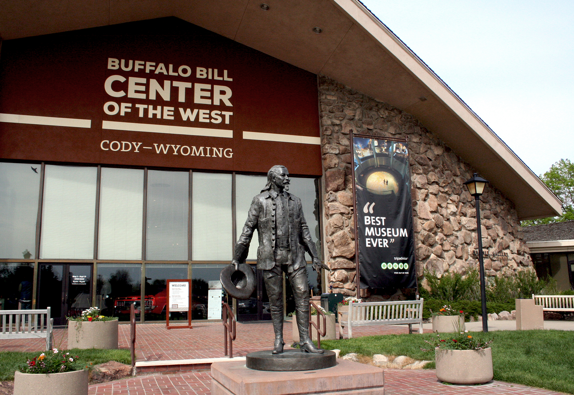 buffalo bill center of the west awarded tripadvisor u0026 39 s certificate of excellence for second