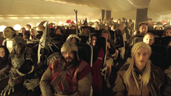 An Unexpected Briefing - Hobbit Style - by Air New Zealand