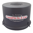 Campfire In A Can Black Canister Top