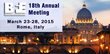 Biofeedback Federation of Europe Announces Dates for 18th Annual...