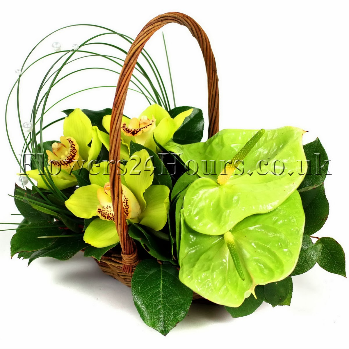 Flower Basket Arrangements Uk : Flowers that say summer and gifts to match from