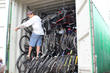 A Full Load of 400 Bikes on Its Way to Kenya
