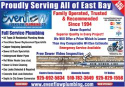 Oakland Trenchless Sewer Replacement and Repair