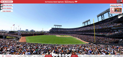 The San Francisco Giants, captured by Fancam