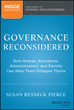 New Book: Governance Reconsidered by Susan R. Pierce and Stephen...
