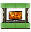 Brent Entertainment Center Green