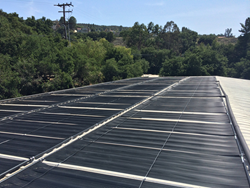 Solar pool heater Viewpoint School CSI-Thermal Program
