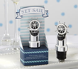"""Set Sail"" Ship Wheel Pourer Stopper"