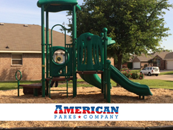 Busy Bee Commercial Play Structure by American Parks Company