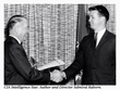 Terrence M. Burke receiving the CIA Intelligence Star for Valor in 1965