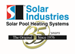 Solar Industries Solar Pool Heater Achieves 1,100 Btu per Square Foot...