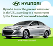 Hyundai Beats Honda for Title of Greenest Automaker in the United...