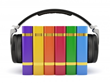 Audiobooks being recorded by professional talent online