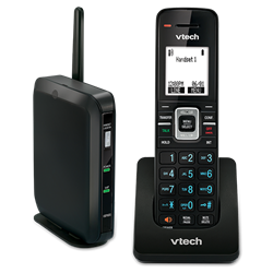 Wireless DECT Phone increases mobility with the VTech ErisTerminal VSP600