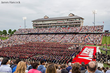 Liberty University's 41st Commencement drew a crowd of approximately 34,000 people to Williams Stadium on May 10, 2014, when nearly 18,000 degrees were conferred to online and residential graduates.