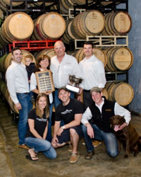 Family and Wine Maker