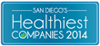 2014 San Diego Business Journal Healthiest Company Logo