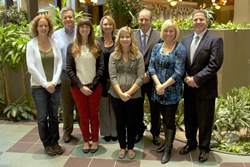 OVC, INC. employees celebrate the online lawyer marketing company's 6th anniversary
