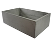 Alfi ABC3219-CO Single Bowl Concrete Cement Farm Apron Sink