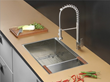 "Ruvati RVH8300 Undermount Stainless Steel 32"" Kitchen Sink Single Bowl"
