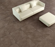 Tesoro Unglazed Porcelain 18X18 brown # 1038 from STONE LEADER - RESLBR18