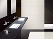 """Jade 12"""" x 24"""" Floor and Wall Tile in White KER-8422"""