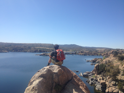 B2B Resident apprecaited the view on an outdoor adventures trip to Granite Dells in Prescott, AZ.