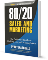 80/20 Sales and Marketing Book by Perry Marshall
