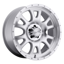 Black Rhino Truck Wheels - the Lucerne in Silver
