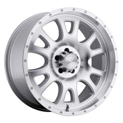Black Rhino Truck Wheels - the Lucerne in Silver
