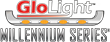 GloLight Panelite Millennium Series logo, GloLight Panelite Millennium Series brand, GloLight Panelite Millennium logo