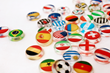 National flag candies of 32 tournament teams of 2014 FIFA World Cup