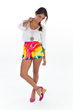 Ocean Tie Dye Short by Colocsty
