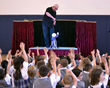 Everest Academy lower school students participated in the marionette show called A Day at the Circus
