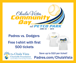 Chual Vista Community Day at Petco Park San Diego Padres