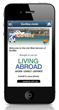 Go4Biz Business Traveler App from Living Abroad Screen Shot