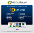 GiftCardRescue.com Announces Top 10 Gift Cards for Father's Day